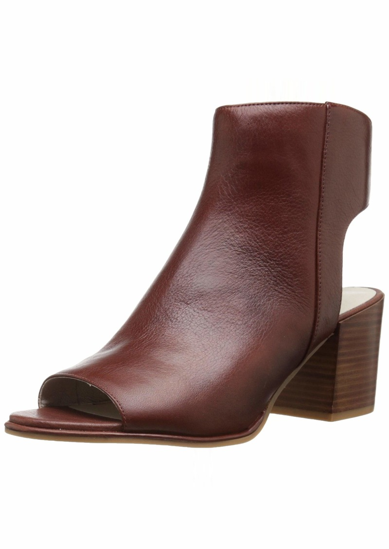 Kenneth Cole New York Women's Charlo Peep Toe Shootie Ankle Boot  6.5 M US