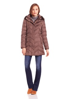 Kenneth Cole New York Women's Chevron Down Jacket
