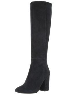 Kenneth Cole New York Women's Clarissa Knee High Tall Boot Stacked Heel Engineer   M US