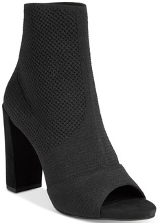 Kenneth Cole New York Women's Dahvi Peep-Toe Ankle Booties Women's Shoes