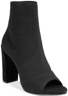 Kenneth Cole New York Women's Dahvi Peep-Toe Ankle Booties Women's Shoes