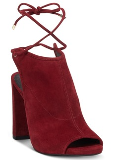 Kenneth Cole New York Women's Darla Lace Up Booties Women's Shoes