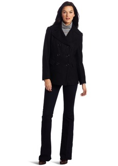 Kenneth Cole New York Women's Double Breasted Pea Coat