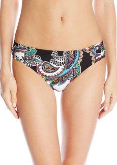 Kenneth Cole New York Women's Eclectic Adventure Sash Tab Bikini Bottom