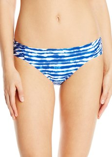 Kenneth Cole New York Women's Electric Stripe Sash Tab Bikini Bottom
