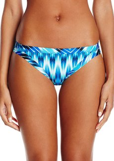 Kenneth Cole New York Women's Fancy Footwork Keyhole Hipster Bikini Bottom