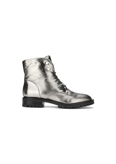 Kenneth Cole New York Women's Francesca Lace-up Combat Bootie Boot