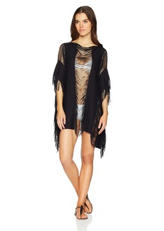 Kenneth Cole New York Women's Butterfly Sleeve Kimono Cover up Dress