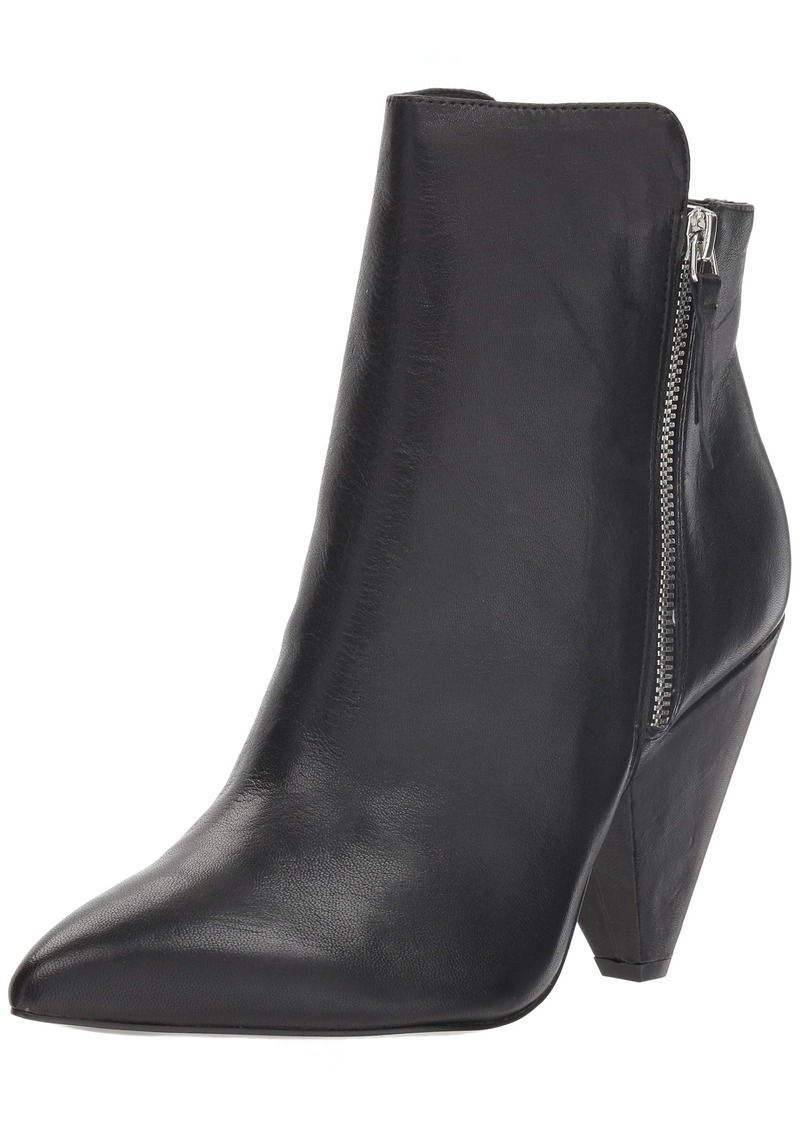5c0ce41d4341d New York Women's Galway Side Zip Heeled Bootie Ankle Boot