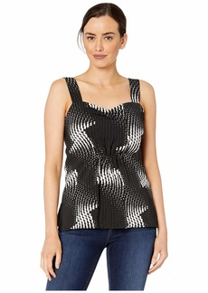 Kenneth Cole New York Women's Gathered Bodice TOP