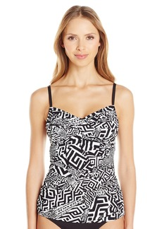 Kenneth Cole New York Women's Got The Beat A-D Cup Tankini