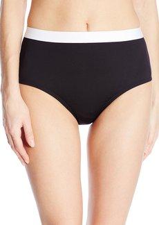Kenneth Cole New York Women's Got The Beat Hi Waist Bikini Bottom