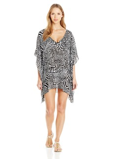 Kenneth Cole New York Women's Got The Beat Strap Back Tunic Coverup