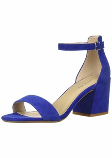 Kenneth Cole New York Women's Hannon Block Heeled Sandal with Ankle Strap   M US
