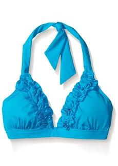 Kenneth Cole New York Women's Haute Wave Halter Bikini Top  S