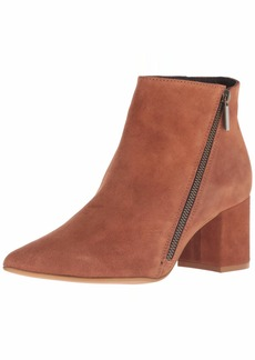 Kenneth Cole New York Women's Hayes Diagonal Side Zip Ankle Bootie Boot   M US