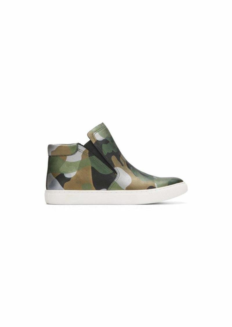 Kenneth Cole New York Women's Kalvin Mid-Top Pull On Sneaker Techni-Cole 37.5 Lining   Medium US