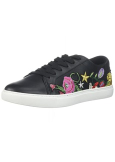 Kenneth Cole New York Women's Kam Floral Embroidered Lace-up Sneaker