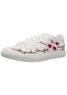 Kenneth Cole New York Women's Kam Lace up Fashion Cherry Blossom Techni-Cole 37.5 Lining Sneaker  8 Medium US