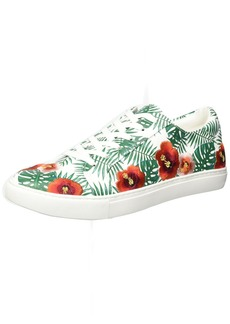 Kenneth Cole New York Women's Kam Palm Print Lace-up Sneaker  7.5 M US