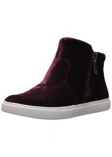Kenneth Cole New York Women's Kiera Double Zip MID-TOP Sneaker Velvet   Medium US
