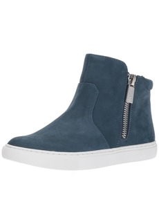 Kenneth Cole New York Women's Kiera High Top Double Zip Nubuck Fashion Sneaker