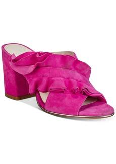 Kenneth Cole New York Women's Laken Ruffled Slides Women's Shoes