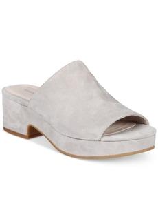 Kenneth Cole New York Women's Layla Block-Heel Slides Women's Shoes