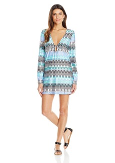 Kenneth Cole New York Women's Linear Lines Tunic Coverup