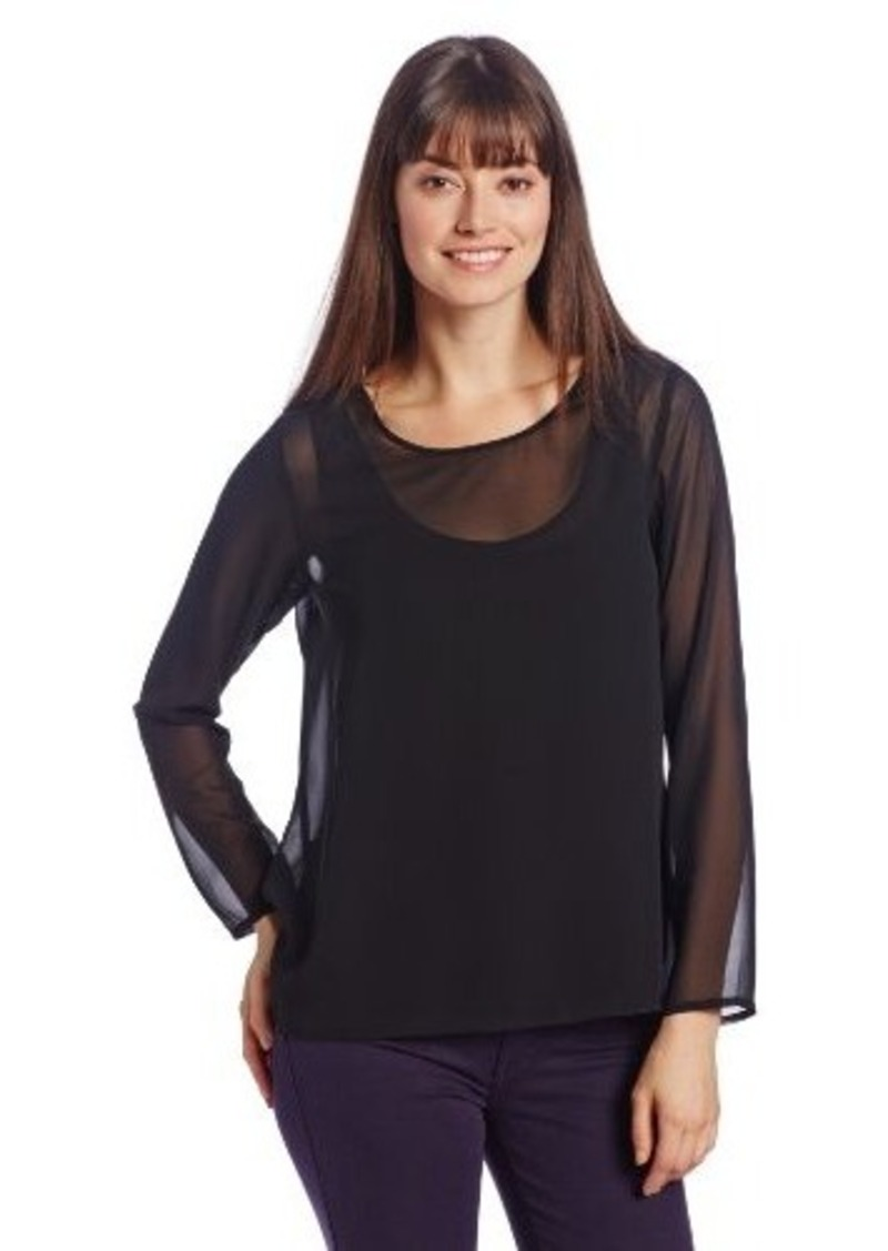 Kenneth Cole New York Women's Lisa Blouse