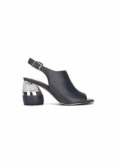 Kenneth Cole New York Women's Lovelle Lucite Bulb Heel Heeled Sandal   M US