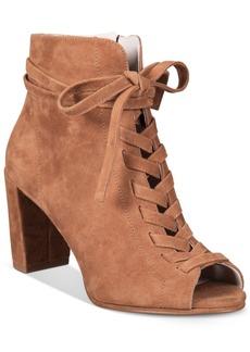 Kenneth Cole New York Women's Lula Peep-Toe Booties Women's Shoes