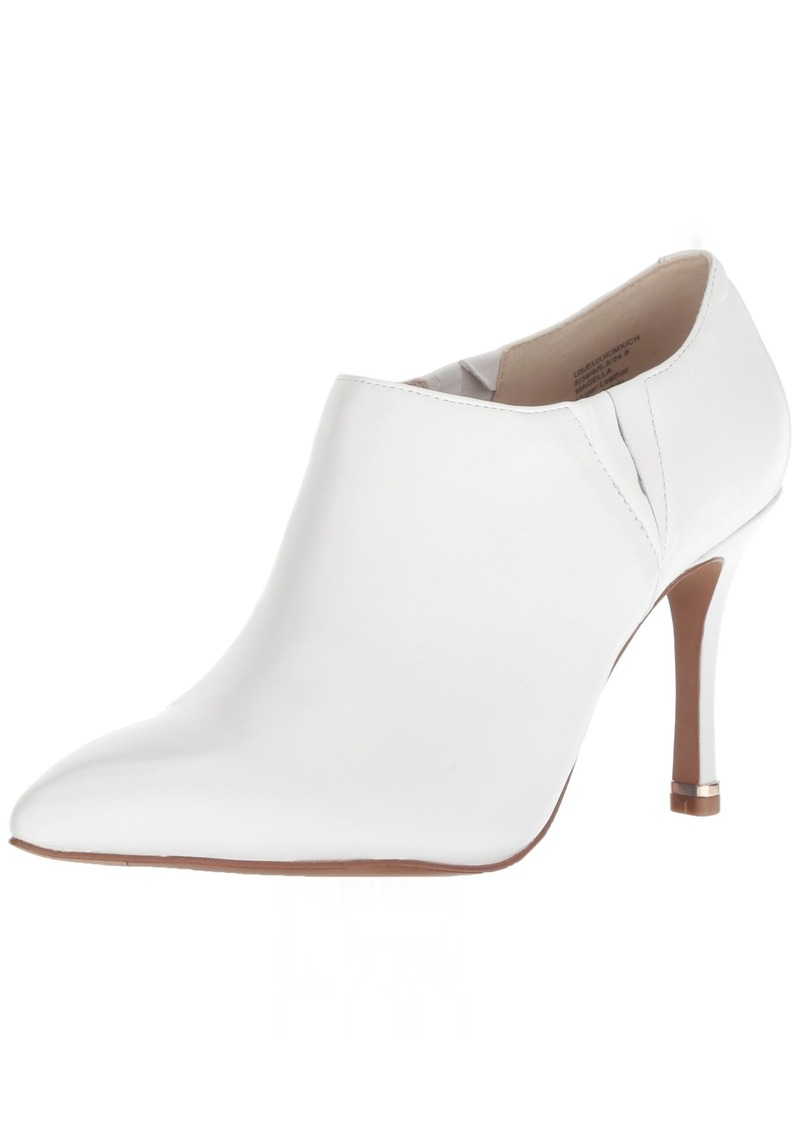 Kenneth Cole New York Women's Magella Slip On Heeled Bootie Ankle Boot   M US