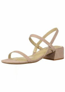 Kenneth Cole New York Women's Maise Low Block Heel Strappy Sandal Heeled