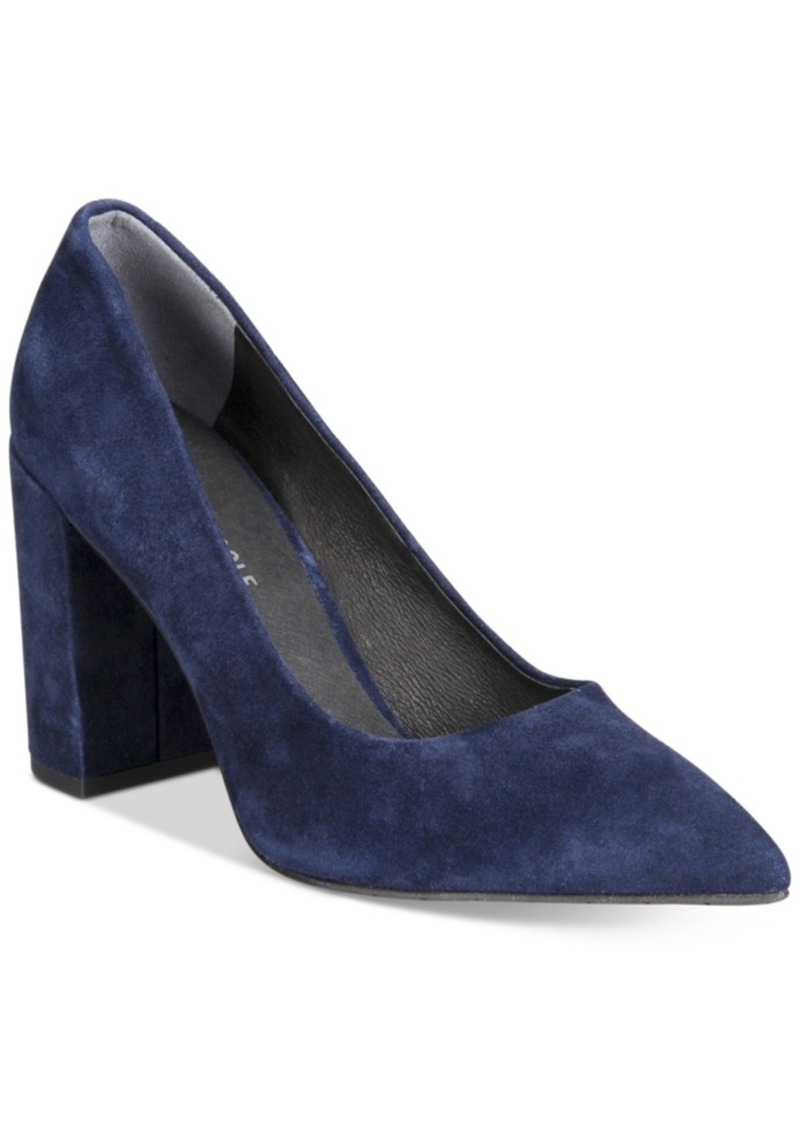 Kenneth Cole New York Women's Margaux Block-Heel Pumps Women's Shoes