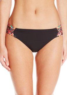 Kenneth Cole New York Women's Mumbai The Sea Tab Sash Bikini Bottom