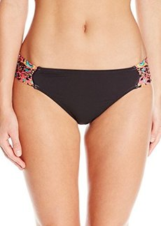 Kenneth Cole New York Women's Mumbai The Sea Tab Sash Bikini Bottom