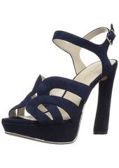 Kenneth Cole New York Women's Nealie Platform Heeled Sandal   M US