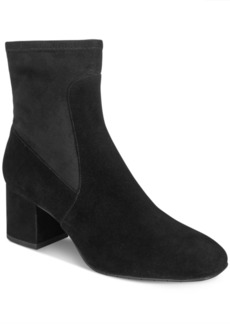 Kenneth Cole New York Women's Nikki Block-Heel Booties Women's Shoes
