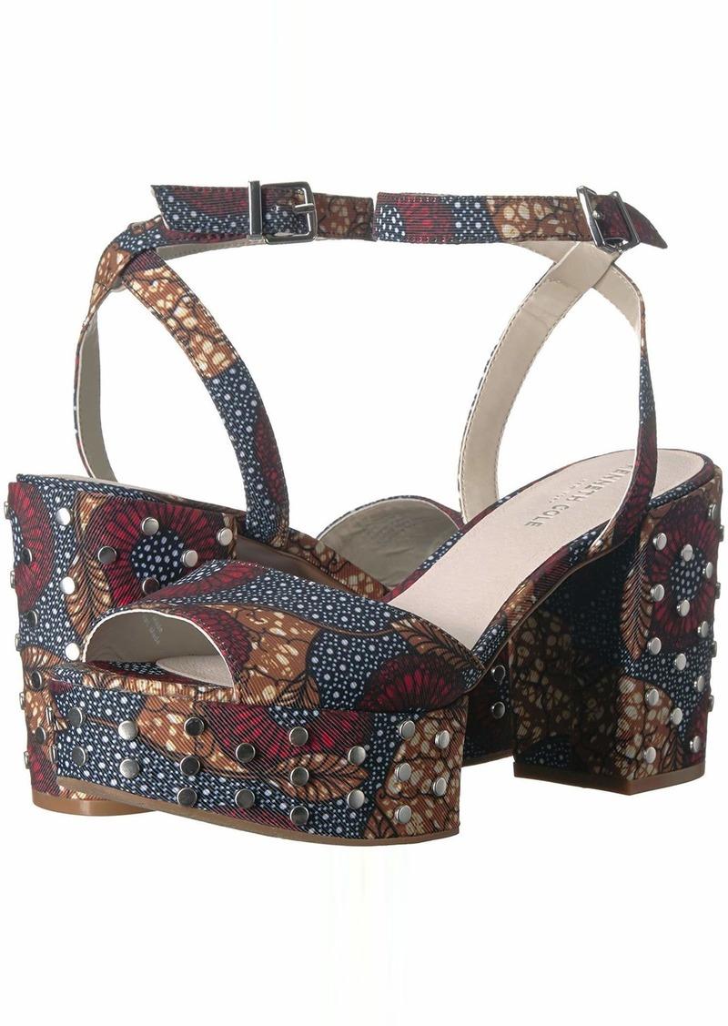 Kenneth Cole New York Women's Pheonix Stud Platform Dress Sandal Heeled   M US