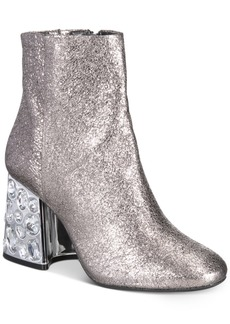 Kenneth Cole New York Women's Rosie Rhinestone Block-Heel Booties Women's Shoes