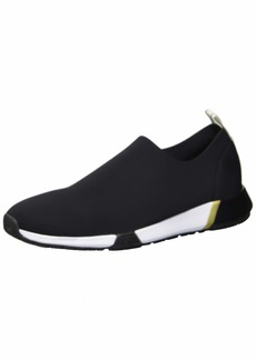 Kenneth Cole New York Women's Santel Stretch Neoprene Sneaker Black  M US