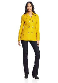 Kenneth Cole New York Women's Side Stitch Peacoat