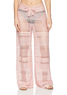 Kenneth Cole New York Women's Tough Luxe Crochet Beach Pant Cover up
