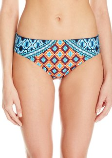 Kenneth Cole New York Women's Tribe Vibes Hipster Bikini Bottom  S