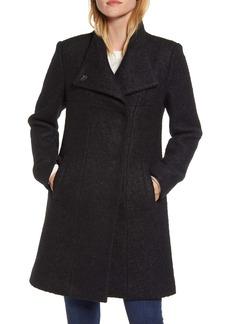 Kenneth Cole New York Wool Blend Bouclé Coat