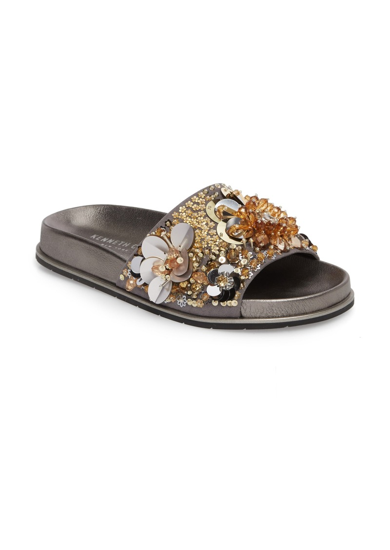 8463225a6732 Kenneth Cole Kenneth Cole New York Xenia Sequin Embellished Sandal ...