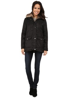 Kenneth Cole New York Zip Front Jacket with Removable Faux Fur