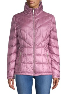 Kenneth Cole New York Zip-Up Puffer Jacket