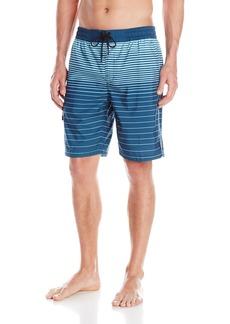Kenneth Cole NY Men's Horizon Stripe Volley Short